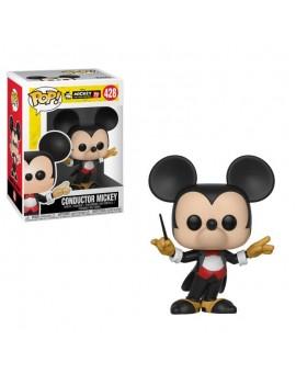 Mickey Maus 90th Anniversary POP! Disney Vinyl Figure Conductor Mickey 9 cm