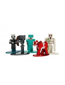 Minecraft Nano Metalfigs Diecast Mini Figures 5-Pack Wave 2 4 cm