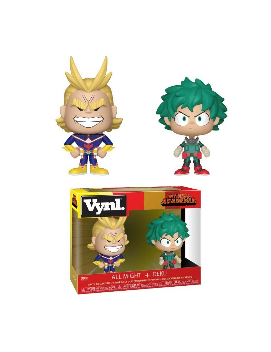 My Hero Academia Vynl Vinyl Figures 2 Pack All Might