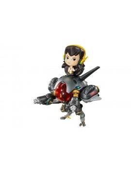 Overwatch Cute but Deadly Vinyl Figure D.Va & Meka Carbon Edition 16 cm
