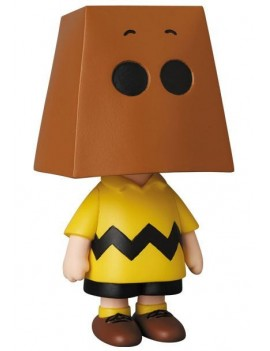 Peanuts UDF Series 10 Mini Figure Charlie Brown Grocery Bag Version 9 cm