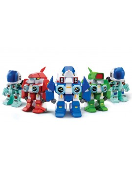 Robotech New Generation Super Deformed Blind Box Figures Display 9 cm (15)