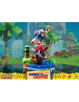 Sonic Generations Diorama Sonic vs Chopper 28 cm