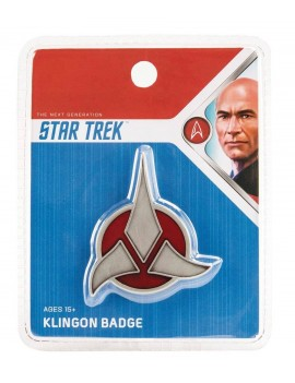 Star Trek Replica 1/1 Magnetic Klingon Emblem Badge