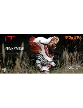 Stephen King's It 2017 Defo-Real Series Soft Vinyl Figure Pennywise Scary Version 15 cm