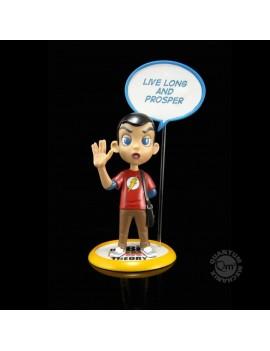 The Big Bang Theory Q-Pop Figure Sheldon Cooper 9 cm