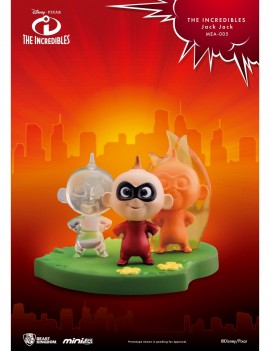 The Incredibles Mini Egg Attack Figure Jack Jack 4 cm