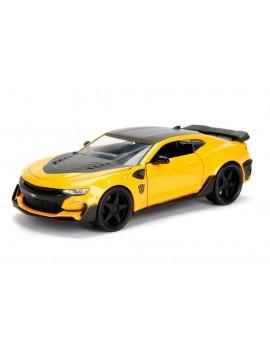 Transformers The Last Knight Diecast Model 1/24 Bumblebee Chevrolet Camaro