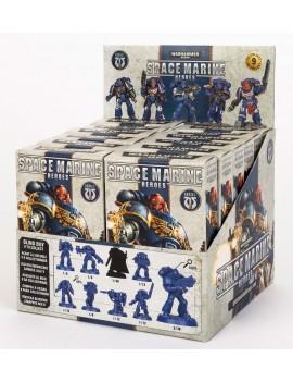 Warhammer 40.000 Miniature Models Space Marine Heroes Series 1 Display (12)