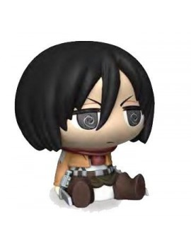Attack on Titan Chibi Bust Bank Mikasa 16 cm