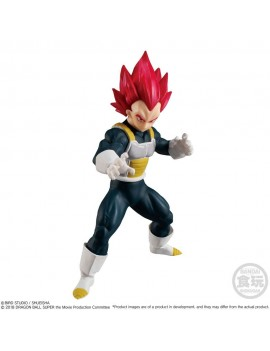 Dragonball Super Styling Collection Figure Super Saiyan God Vegeta 11 cm