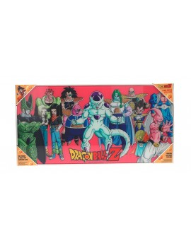 Dragonball Z Glass Poster Villains 30 x 60 cm