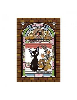 Kiki's Delivery Service Art Crystal Jigsaw Puzzle Jiji's Bakehouse
