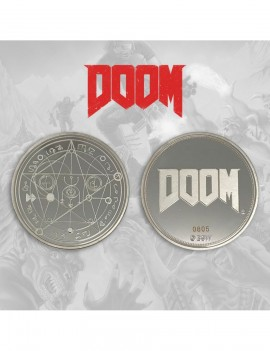 Doom Collectable Coin Logo