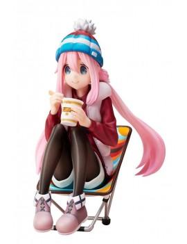 Laid-Back Camp Premium Noodle Stopper PVC Statue 1/8 Nadeshiko Kagamihara 13 cm