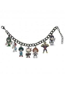 My Hero Academia Charm Bracelet Multi Character