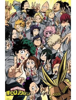 My Hero Academia Poster Pack School Compilation 61 x 91 cm (5)