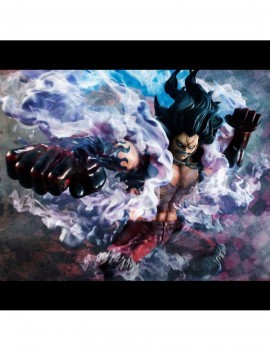 One Piece Excellent Model P O P Pvc Statue 1 8 Sa Maximum Monkey D Luffy Gear 4 Snake Man 26 Cm
