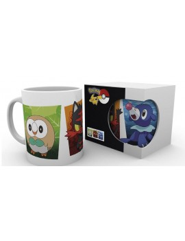 Pokemon Sun and Moon Mug Alola Partners