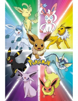 Pokémon Poster Pack Eevee Evolution 61 x 91 cm (5)