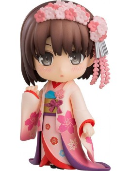 Saekano How to Raise a Boring Girlfriend Nendoroid Action Figure Megumi Kato Kimono Ver. 10 cm