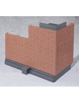 Tamashii Option Action Figure Accessory Brick Wall (Brown Ver.) 22 cm
