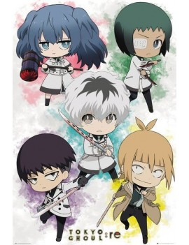 Tokyo Ghoul: RE Poster Pack Chibi Characters 61 x 91 cm (5)