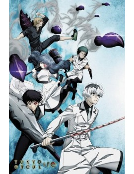 Tokyo Ghoul: RE Poster Pack Key Art 2 61 x 91 cm (5)