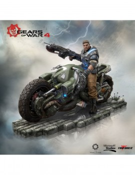 Gears of War 4 Collector's Edition PVC Statue JD Fenix 28 cm