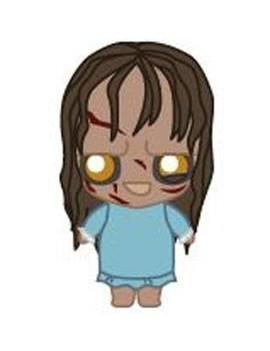 The Exorcist Pokis Rubber Minifigure Regan 6 cm