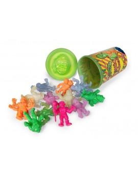 Toxic Crusaders Keshi Figures 12-Pack Wave 1 Trash Can 4 cm
