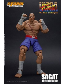 Ultra Street Fighter II: The Final Challengers Action Figure 1/12 Sagat 19 cm