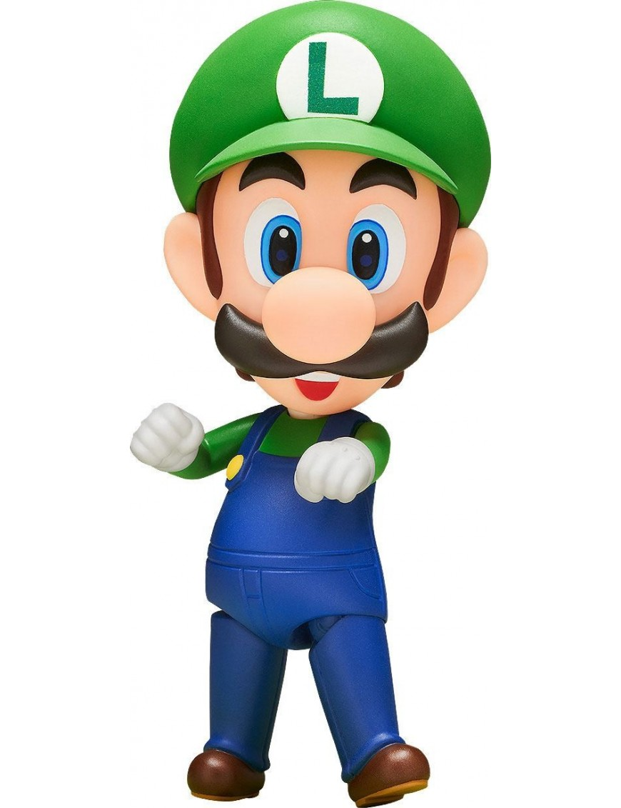 Super Mario Bros Nendoroid Action Figure Luigi 10 Cm