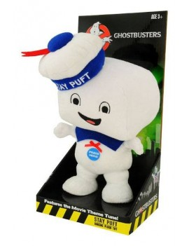 Ghostbusters Talking Plush Figure Stay Puft Marshmallow Man Happy 38 cm *English Version*