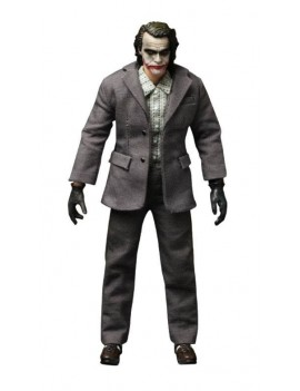 The Dark Knight Action Figure 1/12 The Joker (Bank Robber Version) 17 cm