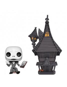 Nightmare before Christmas POP! Town Vinyl Figure Jack & Jack's House 9 cm