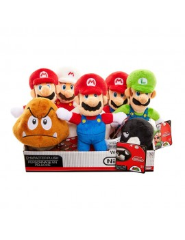 Super Mario Bros. U World of Nintendo Plush Figures 19 cm Display (8)
