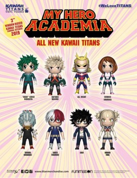 My Hero Academia Trading Figure Kawaii Collection Titans Display 8 cm (18)