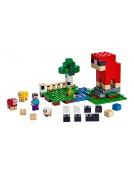 LEGO® Minecraft™ - The Wool Farm