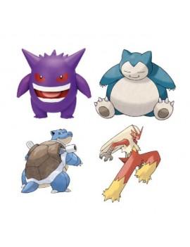 Pokémon Battle Feature Action Figures 11 cm Wave 4 Assortment (4)