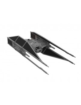 Star Wars Build & Play Model Kit with Sound & Light Up 1/70 Kylo Ren's TIE Fighter