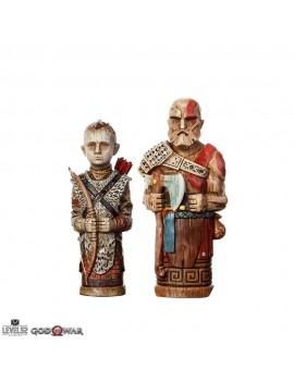 God of War Statue 2-Pack Atreus' Toys 16-18 cm