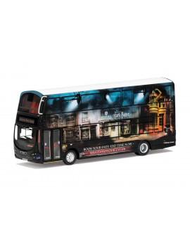 Harry Potter Diecast Model 1/76 Wright Eclipse Gemini 2 Warner Bros. Studio Shuttle Bus