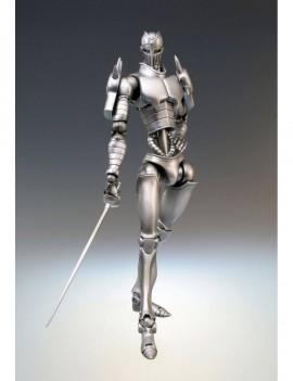 JoJo's Bizarre Adventure Super Action Action Figure Chozokado (Silver Chariot) 16 cm