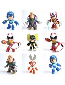 Mega Man Action Vinyl Mini Figures 8 cm GE Display (12)