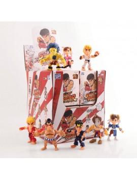 Street Fighter Action Vinyl Mini Figures 8 cm WM Display (12)