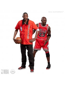 NBA Collection Real Masterpiece Actionfigur 1/6 Michael Jordan (Away) Final Limited Edition 30 cm
