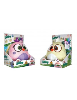 The Angry Birds Movie 2 Plush Figures with Sound 8 cm Hatchlings Scribble Me Display (12)