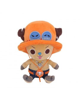One Piece Plush Figure Chopper x Ace 11 cm