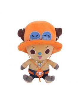 One Piece Plush Figure Chopper x Ace 20 cm